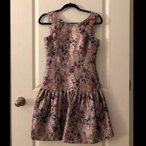 Multicolor Phoebe Mini Dress